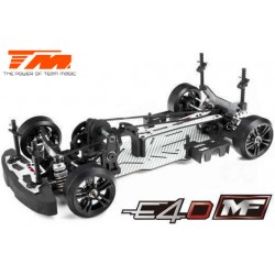 TM503019-S15 Auto - 1/10 Electrique - 4WD Drift - ARR - Team Magic E4D-MF - S15 sans électronique