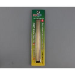TRU09944 TRUMPETER 20cm Brass Pipe Set 3