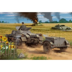 HBO80146 Munitionsch.Kpwagen with trail.1/35