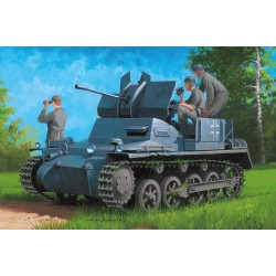 HBO80147 Germ.Flakpanzer IA Ammo Trail. 1/35