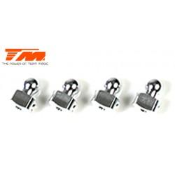 TM503123 Pièce détachée - E4 - Aluminium 7075 - Rotules de barres anti-roulis (4 pces)