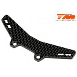 TM503137 Pièce détachée - E4 - Support d'amortisseurs avant carbone