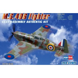 HBO80235 MS.406 Fighter 1/72