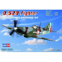 HBO80237 French D.520 Fighter 1/72