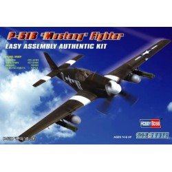 HBO80242 P-51B 'Mustang' Fighter 1/72