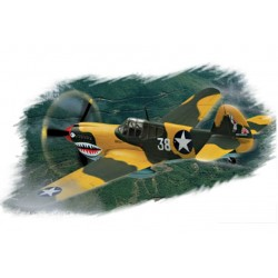 "HBO80250 P-40E ""Kitty Hawk"" 1/72"
