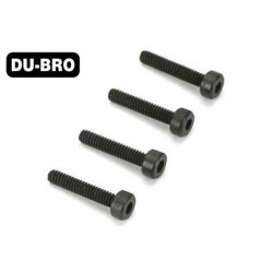 DUB2115 Screws - 2.5mm x 4 Socket Head Cap Screw(4 pcs per package)