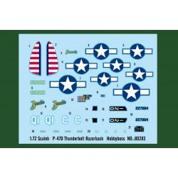 HBO80283 P47 D Thunderbolt Razorback 1/72