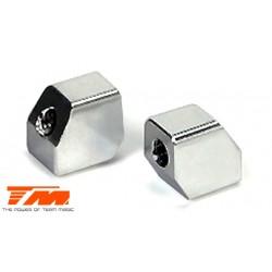 TM503187 Pièce détachée - E4 - Aluminium 7075 - Support de servo (2 pces)