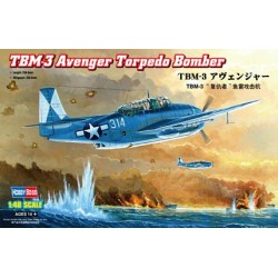 HBO80325 TBM-3 Avenger Torpedo Bomber 1/48