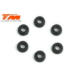 TM503252 Pièce détachée - Rondelles Nylon 3.1x6.5x3mm (6 pces)