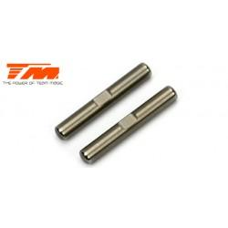 TM503265 Pièce détachée - E4JS/JR - Axes extérieurs de bras arrières inférieurs (2 pces)