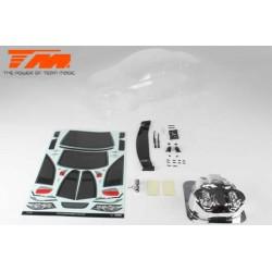 Carrosserie - Monster Truck - Transparente - Chevy Silverado - pour Traxxas Revo 3.3, T-Maxx 3.3 & MGT