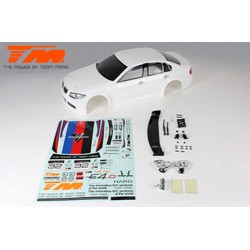 TM503316WA Carrosserie - 1/10 Touring / Drift - 190mm - Peinte - non percée - 320 Blanche