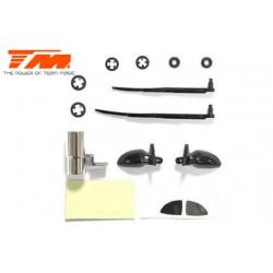 TM503317-2 Pièce détachée - E4JR/E4D - Accessoire de carrosserie – Rétroviseur, échappement, essuies-glace