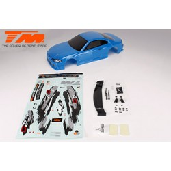 TM503319BA Carrosserie - 1/10 Touring / Drift - 190mm - Peinte - non percée - S15 Bleue