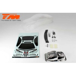 Carrosserie - 1/10 Short Course - Transparente - Dodge Ram 2500 - pour PRO-2 SC, Slash® etc...