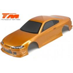 TM503319GDA Carrosserie - 1/10 Touring / Drift - 190mm - Peinte - non percée - S15 Gold