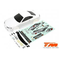 TM503319WA Carrosserie - 1/10 Touring / Drift - 190mm - Peinte - non percée - S15 Blanche