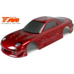 TM503321DRA Carrosserie - 1/10 Touring / Drift - 190mm - Peinte - non percée - RX7 Rouge foncé
