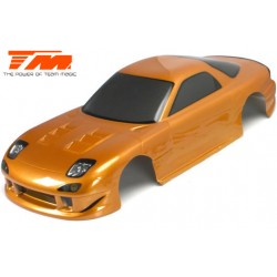 TM503321GDA Carrosserie - 1/10 Touring / Drift - 190mm - Peinte - non percée - RX7 Gold