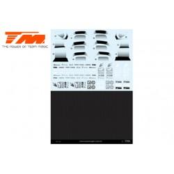 TM503322 Autocollants - E4D Mazda RX7