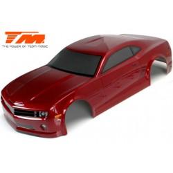 TM503323DRA Carrosserie - 1/10 Touring / Drift - 195mm - Peinte - non percée - CMR Rouge foncé