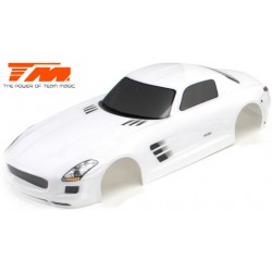 TM503326WA Carrosserie - 1/10 Touring / Drift - 190mm - Peinte - non percée - SLS Blanche
