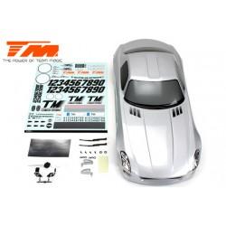 TM503326SA Carrosserie - 1/10 Touring / Drift - 190mm - Peinte - non percée - SLS Argent