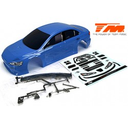 TM503366BA Carrosserie - 1/10 Touring / Drift - 190mm - Peinte - non percée - EVX Bleu