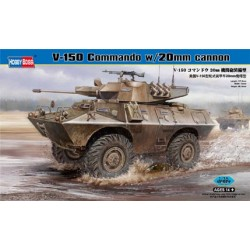 HBO82420 V-150 Commando w/20mm cannon 1/35