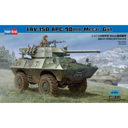 HBO82421 LAV-150 APC 90mm Mecar Gun 1/35