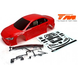 TM503366RA Carrosserie - 1/10 Touring / Drift - 190mm - Peinte - non percée - EVX Rouge
