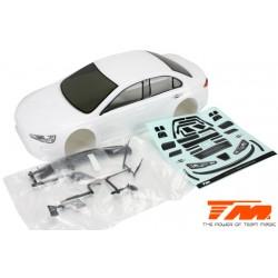 TM503366WA Carrosserie - 1/10 Touring / Drift - 190mm - Peinte - non percée - EVX Blanche