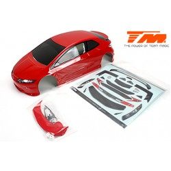 TM503367RA Carrosserie - 1/10 Touring / Drift - 190mm - Peinte - non percée - TPR Rouge
