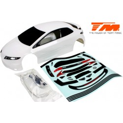 TM503367WA Carrosserie - 1/10 Touring / Drift - 190mm - Peinte - non percée - TPR Blanche
