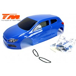 TM503368BA Carrosserie - 1/10 Touring / Drift - 195mm - Peinte - non percée - SRC Bleu