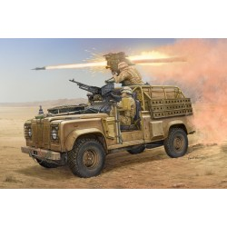 HBO82447 Land Rover WMIK with Milan ATGM1/35