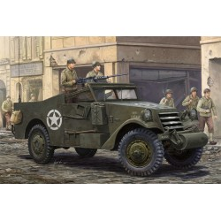 HBO82452 M3A1 Scout Car White Late prod.1/35