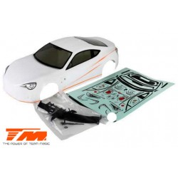 TM503393WA Carrosserie - 1/10 Touring / Drift - 190mm - Peinte - non percée - T86 Blanc