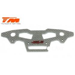 TM503401W Pièce détachée - E4D-MF - Pare-choc supérieur avant composite – blanc