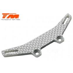 TM503402W Pièce détachée - E4D-MF - Support d'amortisseurs avant composite – blanc
