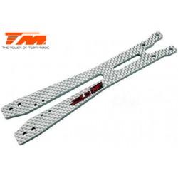 TM503403W Pièce détachée - E4D-MF - Platine supérieure composite – blanc