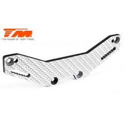 TM503404W Pièce détachée - E4D-MF - Support d'amortisseurs arrière composite – blanc