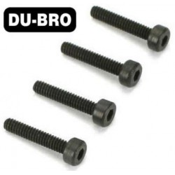 DUB2118 Screws - 2.5mm x10 Socket Head Cap Screw (4 pcs per package)