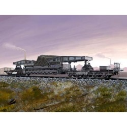 HBO82906 German Rail Transp. Karl-Gerät 1/72