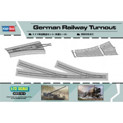 HBO82909 German Railway Turnout 1/72