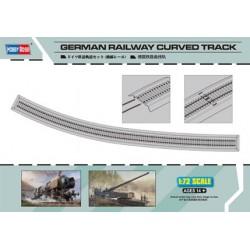 HBO82910 German Railway Curved Track 1/72