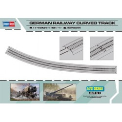 HBO82910 German Railway Curved Track 1/72
