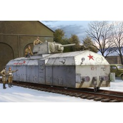 HBO82912 Russian Armored Train 1/72